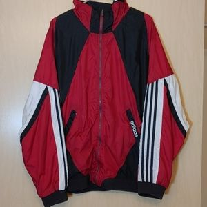 Vintage Adidas originals windbreaker jacket